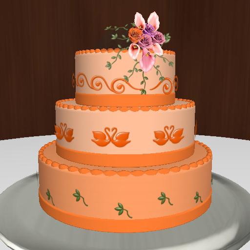 Mixed Colour Cake